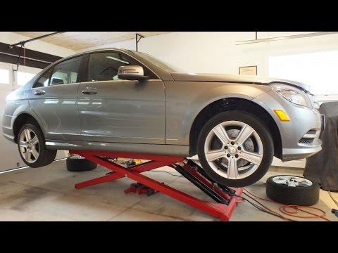Spark Plug Change Benz V6