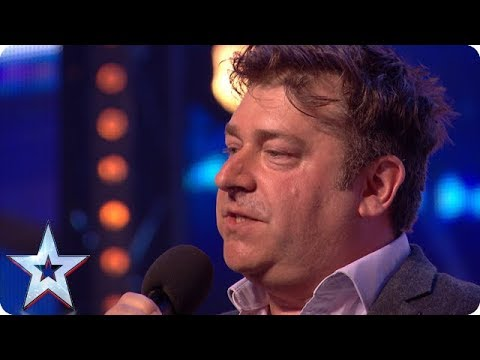Nick Page wins over audience with HILARIOUS act! | Auditions | BGT 2018