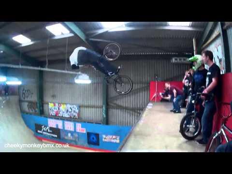 UK BMX VERT Series Competition, 31st March 2014. Ramp City, Blackpool