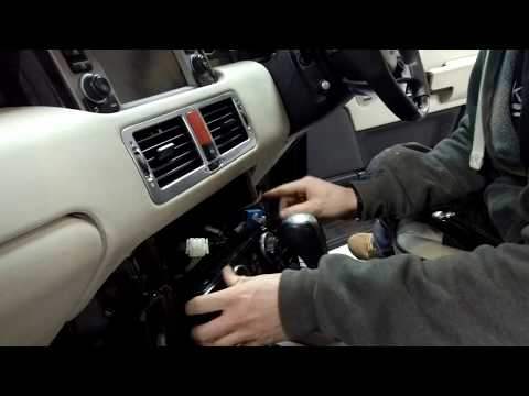 How To Upgrade Dash Fascia Covers on Range Rover L322