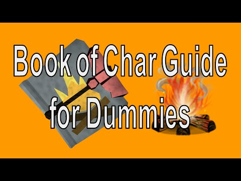 [Runescape 3] Book of Char Guide for Dummies | Fast Firemaking EXP! | No Mouse Keys Required
