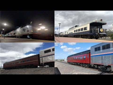 Four Cool Trains in Just Six Days