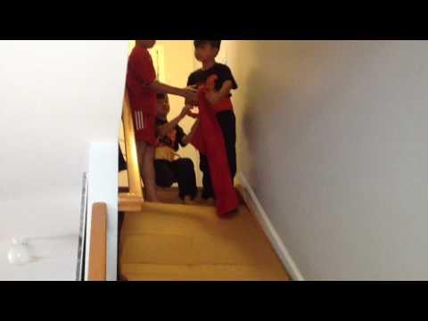 Stairs Cardboard slide
