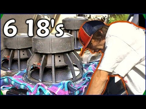 6 18's All Packed Up | EXO Build Updates w/ Six MASSIVE 18