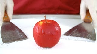 How to make Apple Ice cream rolls