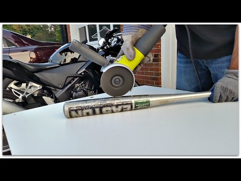 Cut Open Baseball Bat and found?