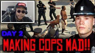 Download Police VS African Rebel! Serious Roleplay Servers! FiveM Gta 5 Rp RDM Video