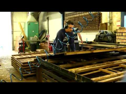 How to make a fence panel Thompsons Fencing