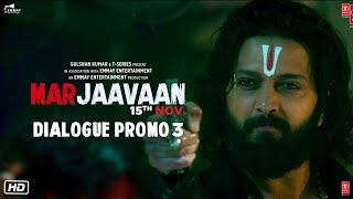 Marjaavaan (Dialogue Promo 3) | Riteish Deshmukh, Sidharth Malhotra, Tara Sutaria | Milap Zaveri