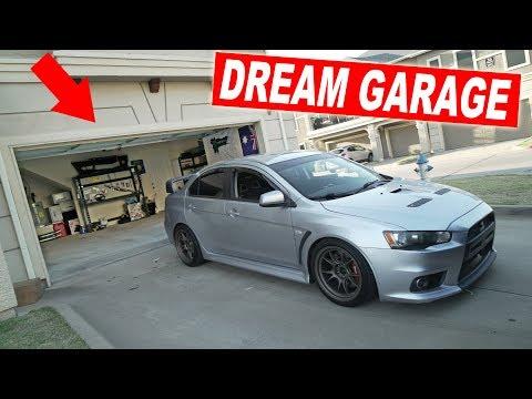 BUILDING MY DREAM GARAGE!
