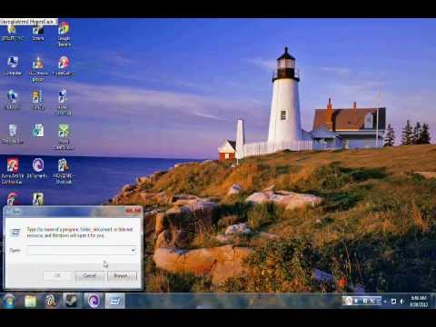 How to find run in windows-7(For beginners)