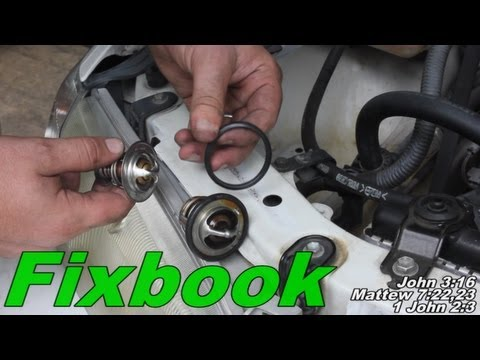 Coolant Thermostat Remove & Replace
