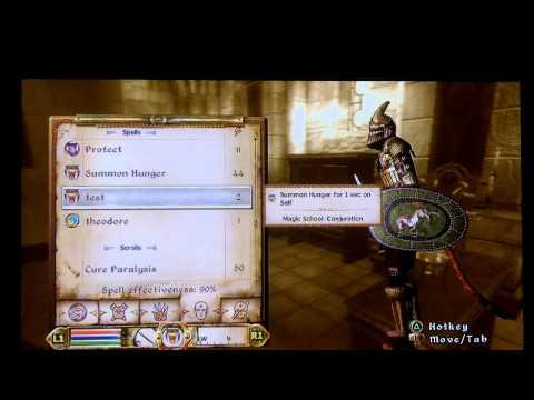 The Elder Scrolls 4: Oblivion How To Get Your Magika Stats Up Fast!