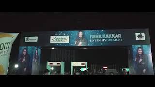 #NEHA_KAKKAR_LIVE HAYEDRABAD 2019