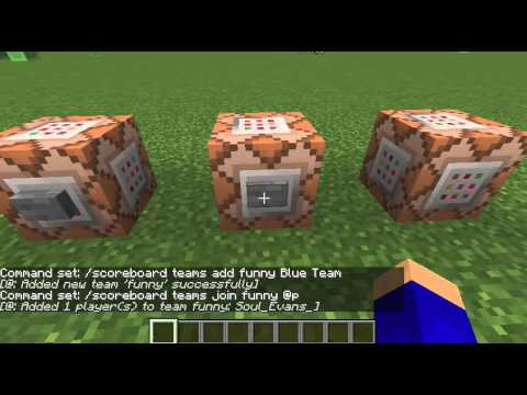 Minecraft: Hide Your Nametag/Username! Easy command blocks