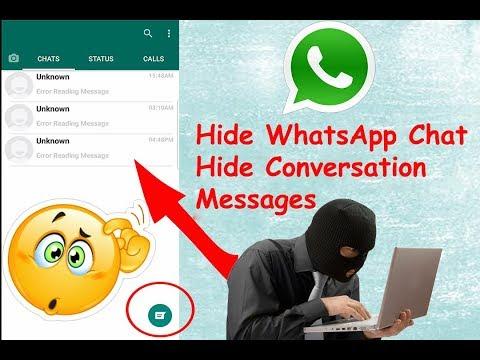 Hide WhatsApp Chat - Hide Conversation, Messages