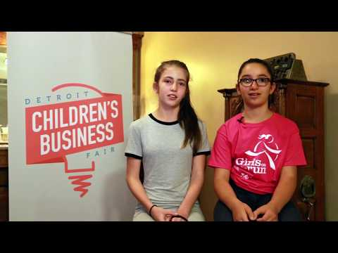 The 2017 Detroit Children's Business Fair