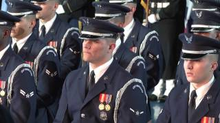 Armed Forces Farewell Tribute to President Barack Obama