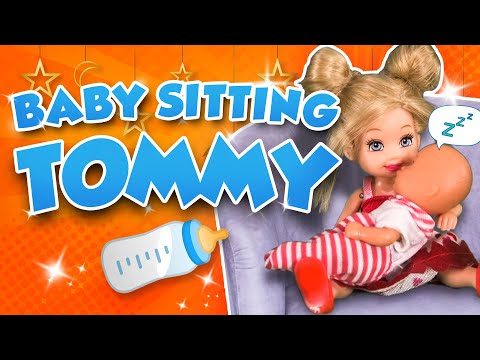 Barbie - Babysitting Tommy | Ep.143