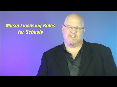 Music Licensing Rules for Schools - Entertainment Law Asked & Answered