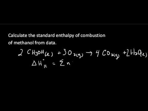 Calculate reaction enthalpy from formation enthalpy data.
