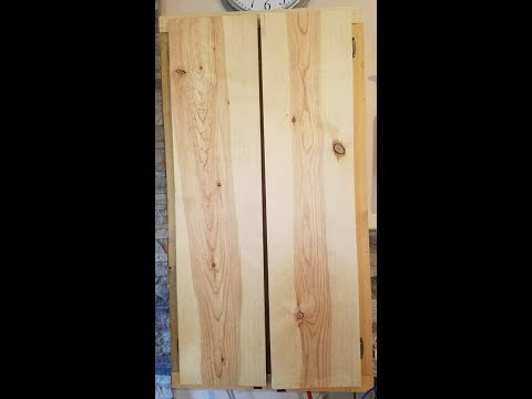 Staining Raw Pine