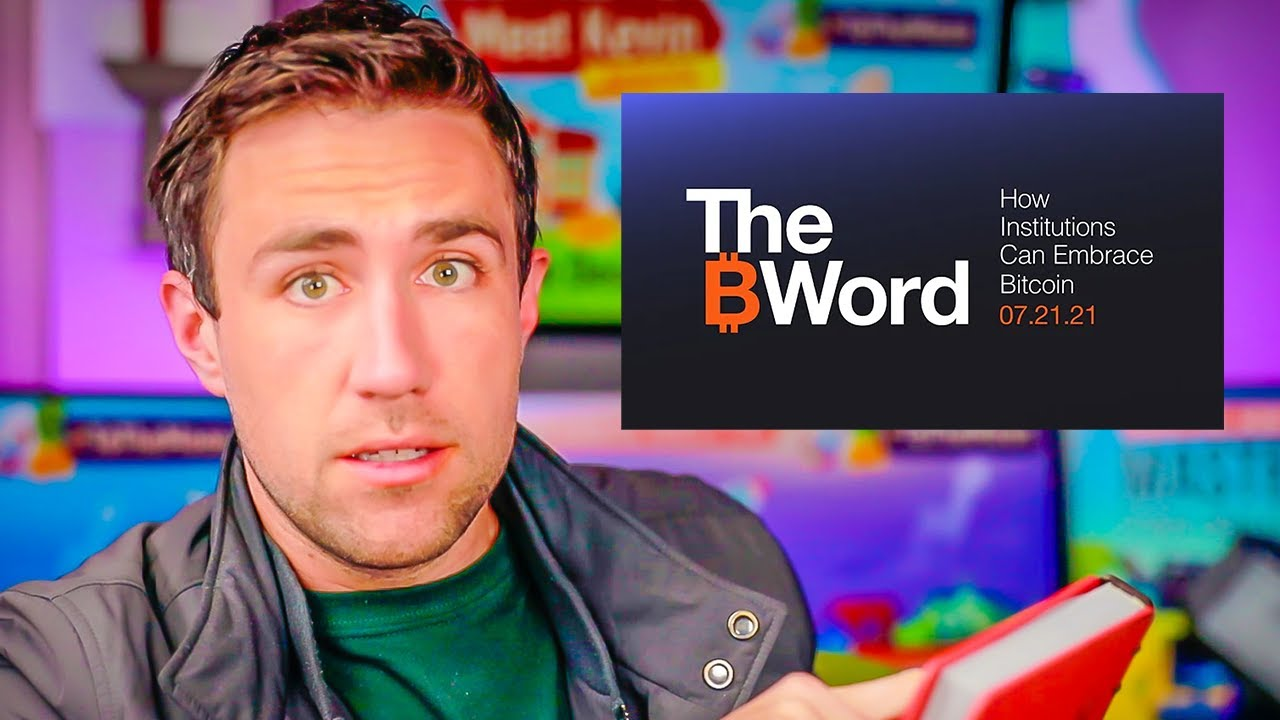 Market Close & Bitcoin [The B Word] Conference [Elon, Cathie Wood, Dorsey]