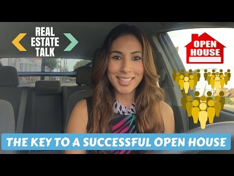 How to GET LEADS through a SUCCESSFUL Open House!