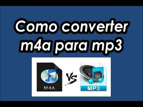 COMO CONVERTER M4A PARA MP3 - FREE