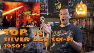 Top 15 Silver Age Sci Fi - Monster Madness X movie review #11