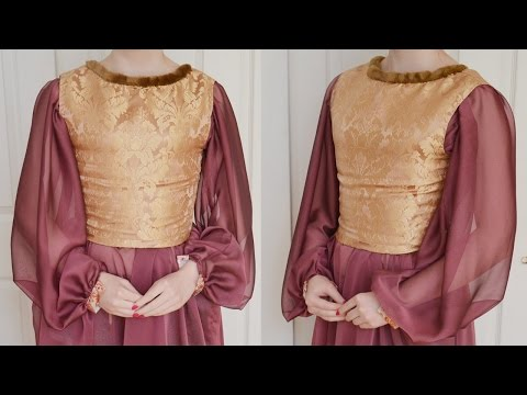 Making a Bodice : Medieval Dress Part One