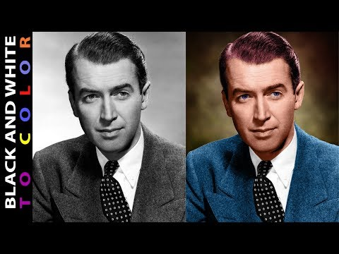 How to Colorize A Black and White Photo in Photoshop CC Easy Way