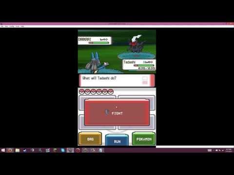 Pokémon Pearl - How to catch Darkrai (action replay)