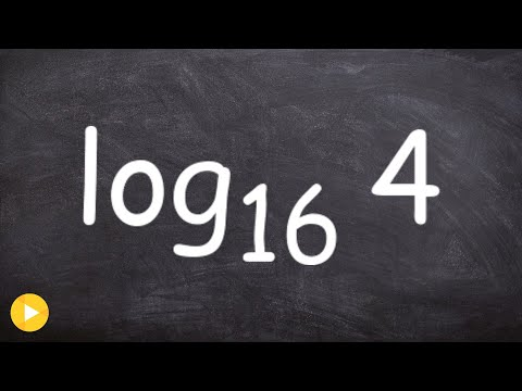Evaluating Basic Logarithms Without a Calculator