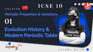 Periodic Properties and Variations L-1 | Evolution History & Modern Periodic Table | ICSE Chemistry