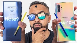 Samsung Galaxy Note 10 Plus vs Note 9