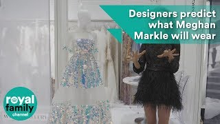 Meghan Markle's wedding dress for royal wedding to Prince Harry - designers predict the dress