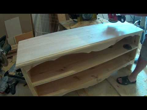 Complete step by step tutorial how to make shoe cabinet (long version)