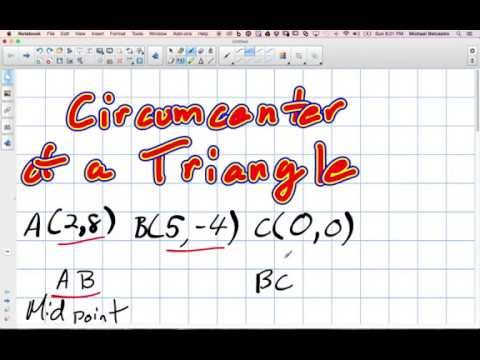 Circumcenter of a Triangle Grade 10 Academic Lesson 3 3 10 19 14