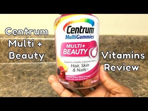 Centrum Multi + Beauty Multivitamin Gummies (hair, skin, and nails)