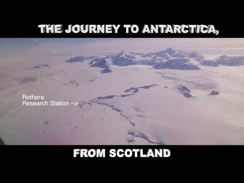 The Journey South to Antarctica, from Scotland