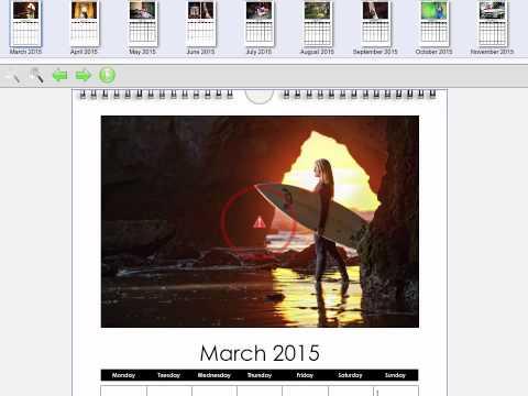 Creating Calendars in BayDesigner