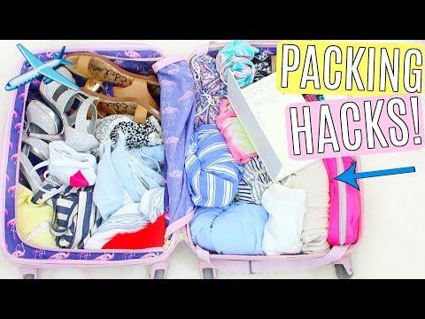 Summer Travel Packing Hacks