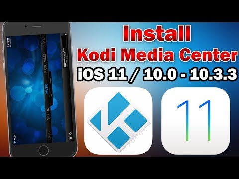 How to Install Kodi Media Center on iOS 11 / 10.0 - 10.3.3 (No Jailbreak / No Computer)
