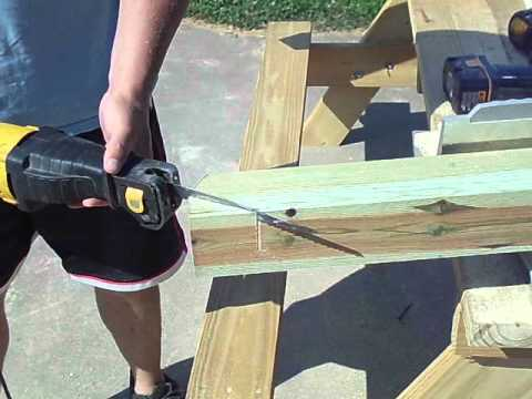 How to build an A frame for an outdoor porch Swing chapter 1.