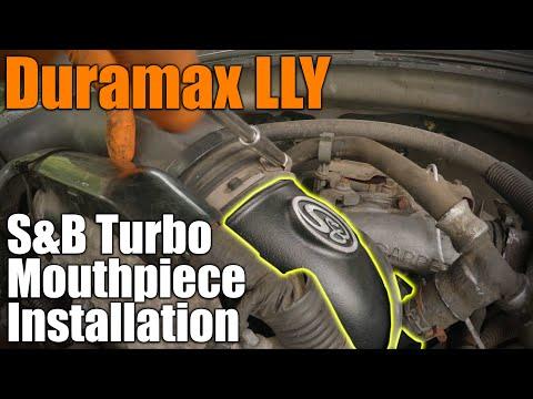 LLY Duramax S&B Turbo Mouthpiece Install