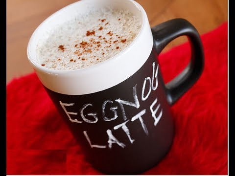 Egg Nog Latte! The Holidays Are Coming!