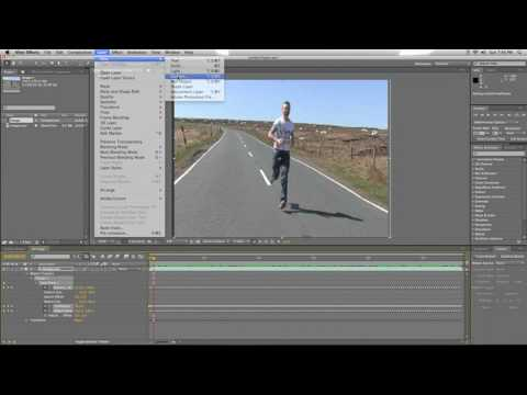 Image Stabilization in AfterEffects Tutorial