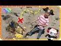 Treasure Hunting for Treasure X Dragon's Gold & Ryan's World Toys 🐯🚂🎁