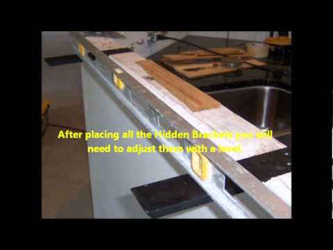 Install the Knee Wall Hidden Bracket.wmv